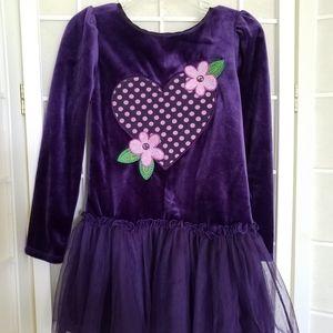 Dollie & Me Girl's size 5 Purple Dress